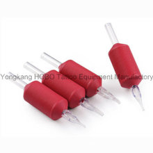 Wholesale Disposale Soft Tattoo Grips with Clear Tips