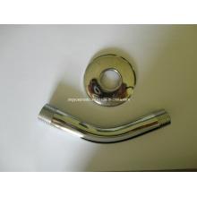 Brazo de ducha redondo de acero inoxidable