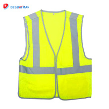 China wholesale cheap colorful reflective 120g construction fabric motorcycles safety vest clothing