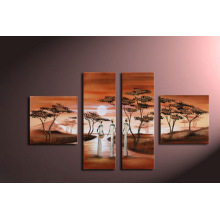 High Quality Modern Group Landscape Oil Painting