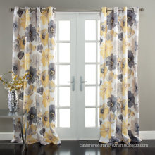 Blackout Curtains with Print for Bedroom