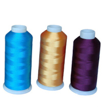 Wholesale High Tenacity 100 Polyester Embroidery Thread