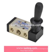 Hand-pull valve, 5/2(3) way