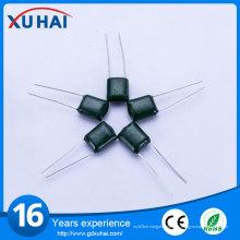 Los diez productos principales de condensador de alta tensión de película de poliéster verde