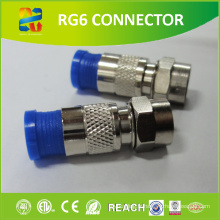 Connecteur imperméable à câble Coaxial Cable F à vente chaude avec prix d'usine