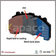 WVA 29046 Wholesale Kapaco Best Ceramic Front Brake Pads For Daf CF 65 75 85 XF 95