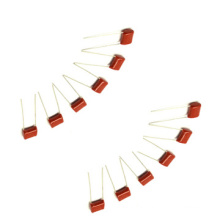Condensador de película de poliéster metalizado Cl21