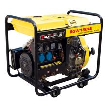 Portable 50 - 210 a AC Arc Diesel Silent Generator Welder (Tgw7500S)