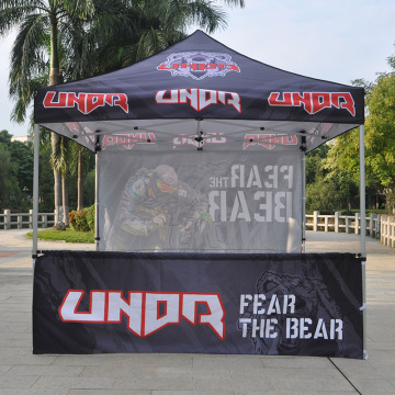 Percetakan Logo Custom 10x10 ft Folding Canopy Khemah