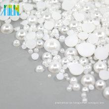 Halb Kunststoff Perlen Perlen 2mm FP03