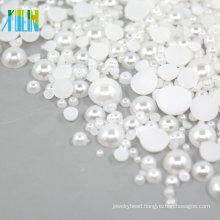 Half plastic flat back pearls beads 2mm FP03