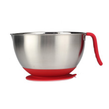 Stainless Steel Mixing bowl with Suction Silicone Bottom