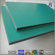 Painéis de revestimento de alumínio em alumínio de 3mm PE