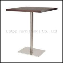Деревянные Верхний прямоугольник бар стол для четырех человек (СП-BT654)