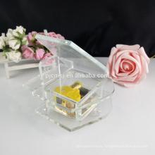 Дешевые стеклянный кристалл фортепиано музыкальная шкатулка подарок на день рождения и сувенир ТБГ-003