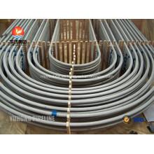 Tubo de curvatura en U de acero inoxidable ASTM A213 TP321