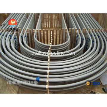 Tabung Stainless Steel U Bend ASTM A213 TP321