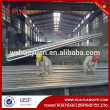 Poteaux d'énergie électrique en acier galvanisé de 10 m