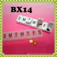 7 Day Pill Medicine Weekly Box