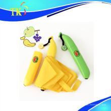 Regenschirm / schöner Bananenschirm für sonnig und regnerisch als kreatives Geschenk