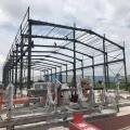 Light Steel Structure Workshop steel truss pole barn