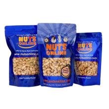 Levante-se saco de nozes com zíper / alumínio Nuts Bag / Snack Bag
