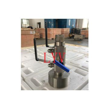 Шариковый Клапан нержавеющей стали Двв с API CE сертифицировано ИСО