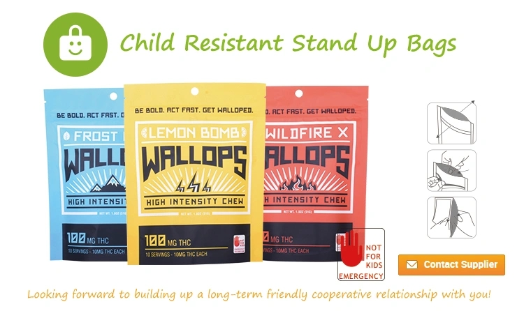 Child-Resistant Medicinal Bags and Pouches