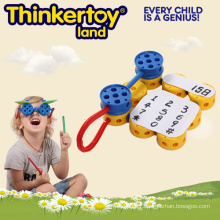 Éducatif DIY 3D EVA Puzzle Toys Plastic Building Blocks