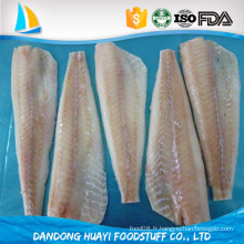 Filet de poisson de merlu congelé à bon marché avec fournisseur de qualité à long terme