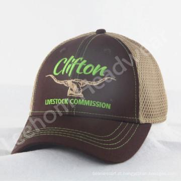 Novo Estruturado Embroidery Trucker Caps