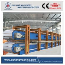 Linha de produção descontínua de painel sanduíche de PU de 6 metros de alta velocidade