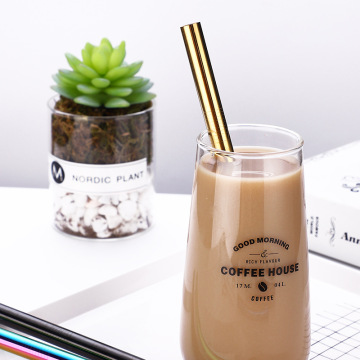 Stainless steel 12mm Bubble Tea Minum Straw