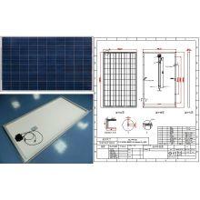 18 V 24 V 30 V 36 V 220 Watt 230 Watt 240 Watt 250 Watt Photovoltaik Panel Solar PV Modul mit Ce FCC Genehmigt