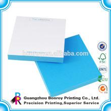 Personalizado diferente en forma de mini almohadilla adhesiva de papel barato al por mayor