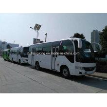 6.6m porta dupla de passageiros ônibus com 26 assentos para a Mongólia