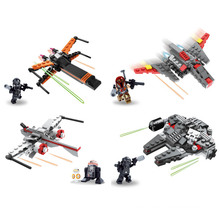 Self Assembly Star Wars Figure Toy with 4 Designs 10249225