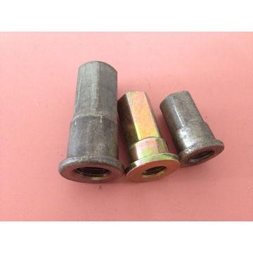 Black Zinc Plating Stainless Steel D Nut/Six Nut