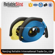 Correa de cuerda de remolque de accesorio exterior para automóvil con ojos