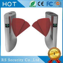 Security Optical Card Baca Flap Barrier Turnstile
