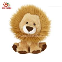 Mini Plush Animal Stuffed Toy Leão Chaveiro