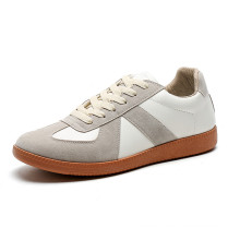 2021 new arrivals white sneakers all-match flat casual lace-up sneakers fashionable ins comfortable easy to wear