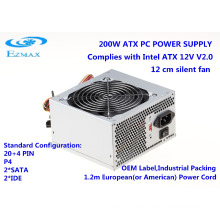 200W 12cm cooling fan ATX Power Supply Desktop Computer power supply SMPS