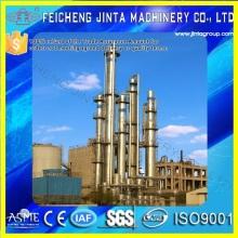 Оборудование для производства спирта / этанола для производства кукурузы Оборудование для дистилляции пара
