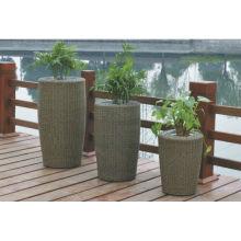Luxury Patio Easy Cleaning rattan furniture vase