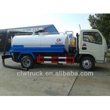 2015 Euro IV Dongfeng 3m3 vacuum pump suction sewage