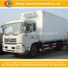 Dongfeng 4X2 99HP Freezer Van Truck 4cbm Refrigerator Truck