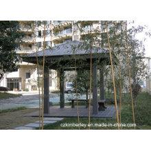 Nova Geração Engvironmentally Friendly WPC Pavilion