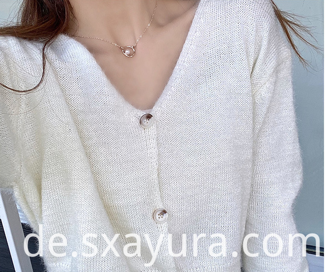 Soft and comfortable sweater coat