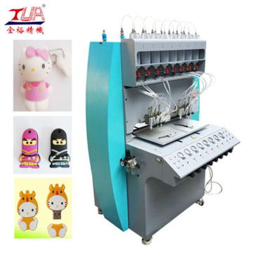 PVC USB Cover Flash Cartoon Making Equipment